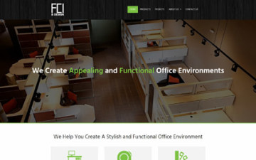 Fusch Commercial Interiors and Design Website