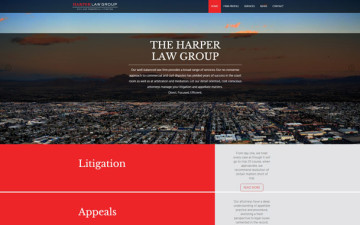 Harper Law Group Website